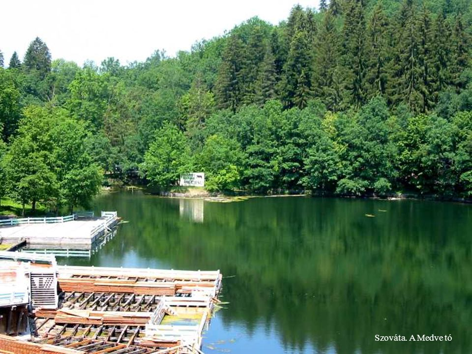 Szováta. A Medve tó