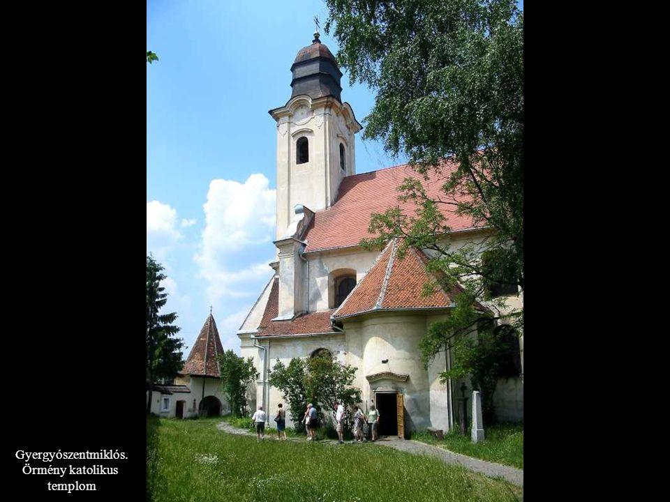 Gyergyószentmiklós. Örmény katolikus templom