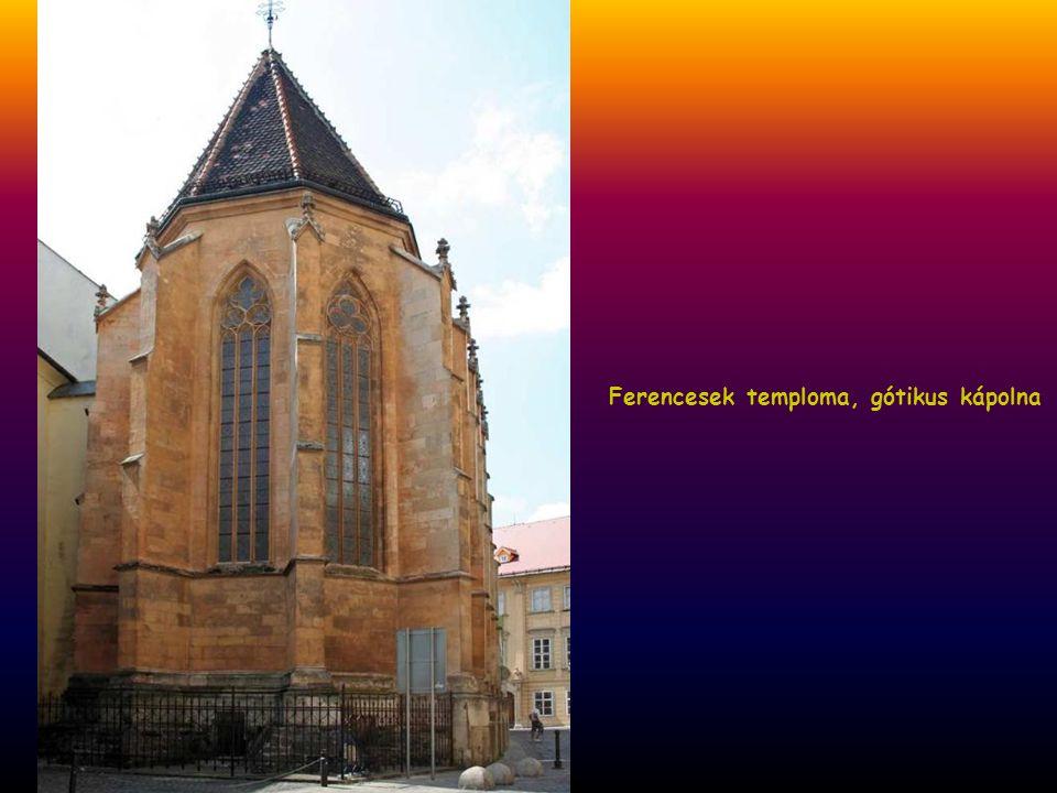 Ferencesek temploma, gótikus kápolna
