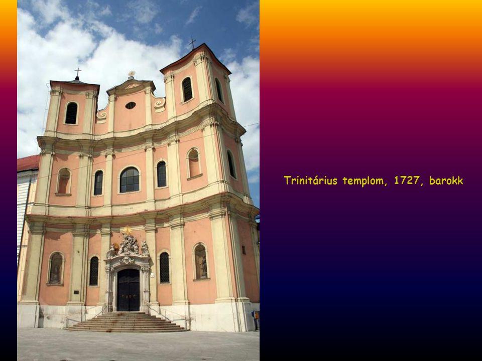 Trinitárius templom, 1727, barokk