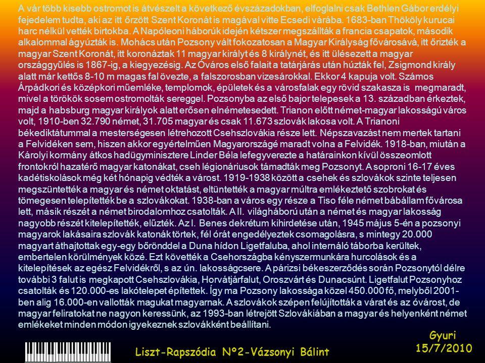 Liszt-Rapszódia Nº2-Vázsonyi Bálint