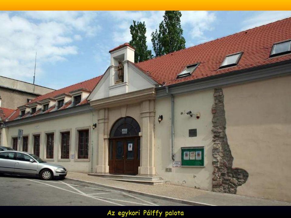 Az egykori Pálffy palota