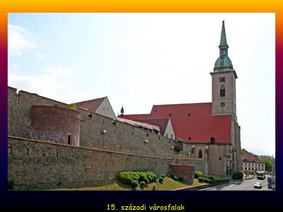 15. századi városfalak