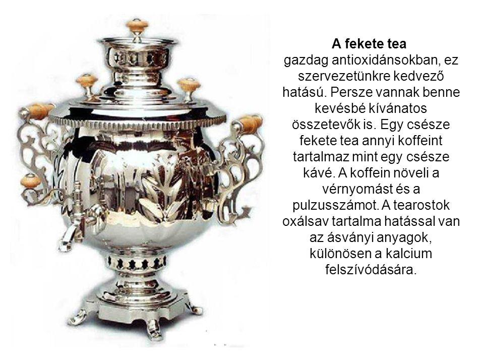 A fekete tea