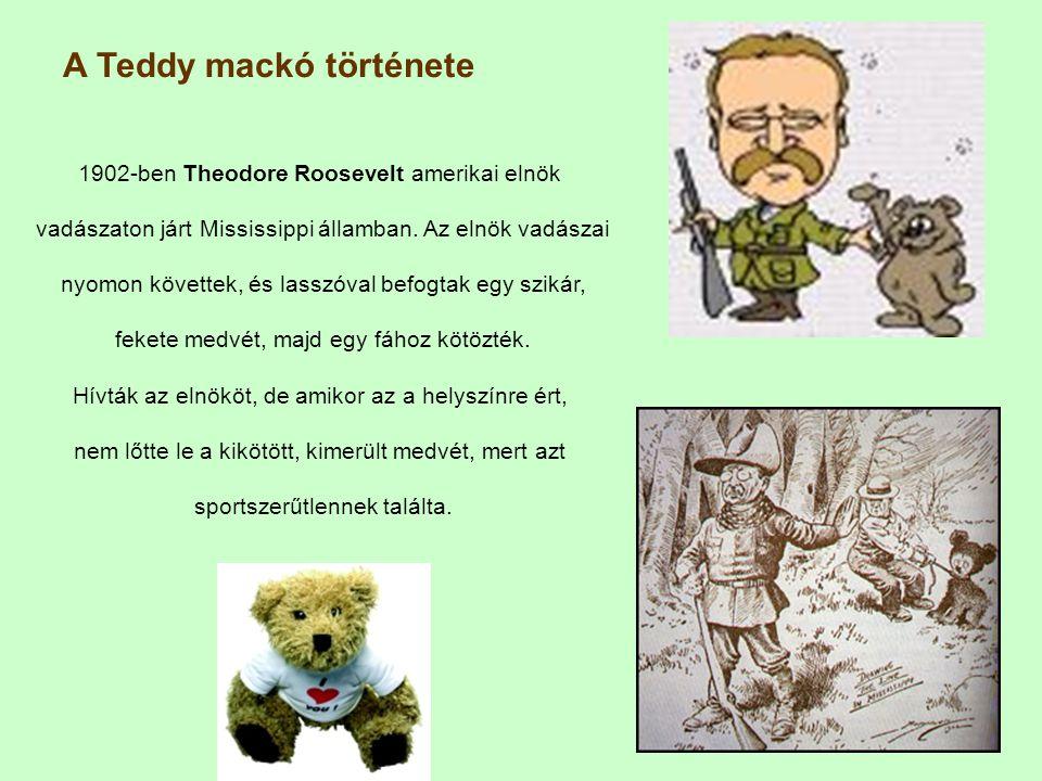 A Teddy mackó története