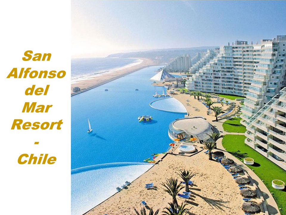 San Alfonso del Mar Resort - Chile