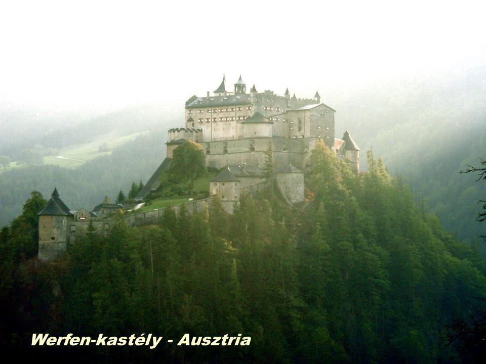 Werfen-kastély - Ausztria