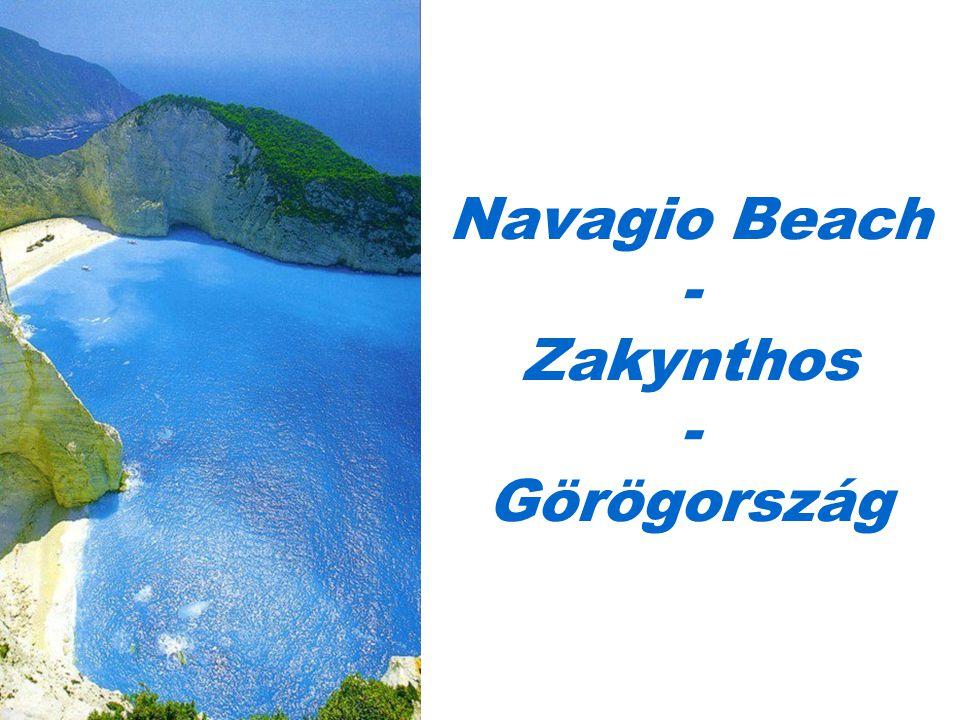 Navagio Beach - Zakynthos - Görögország