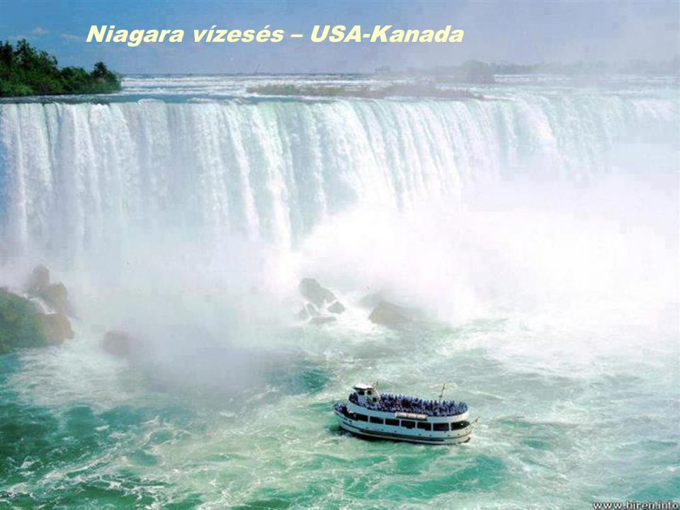Niagara vízesés – USA-Kanada