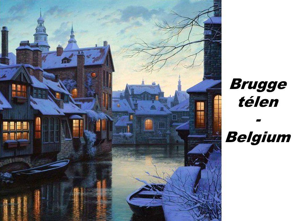 Brugge télen - Belgium