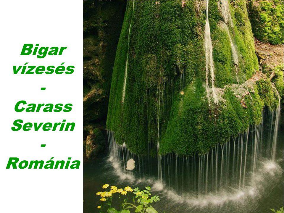Bigar vízesés - Carass Severin - Románia