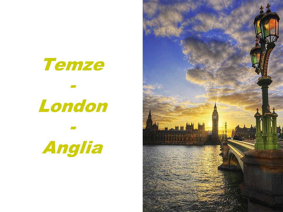 Temze - London - Anglia