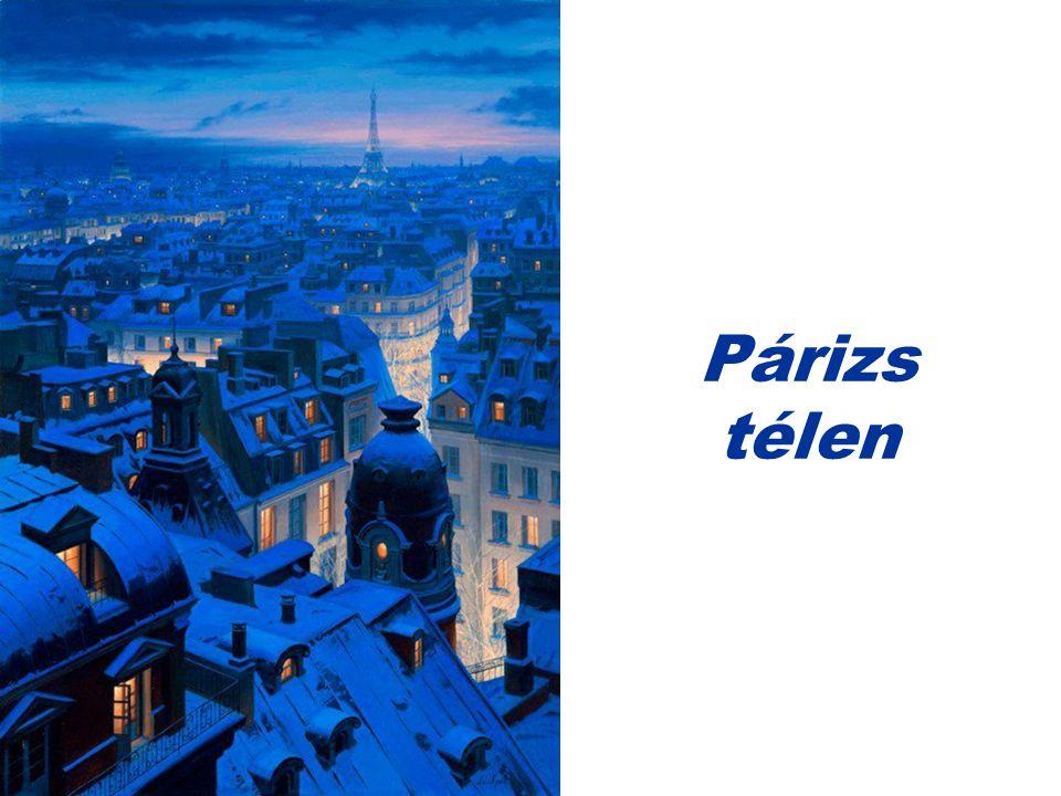 Párizs télen