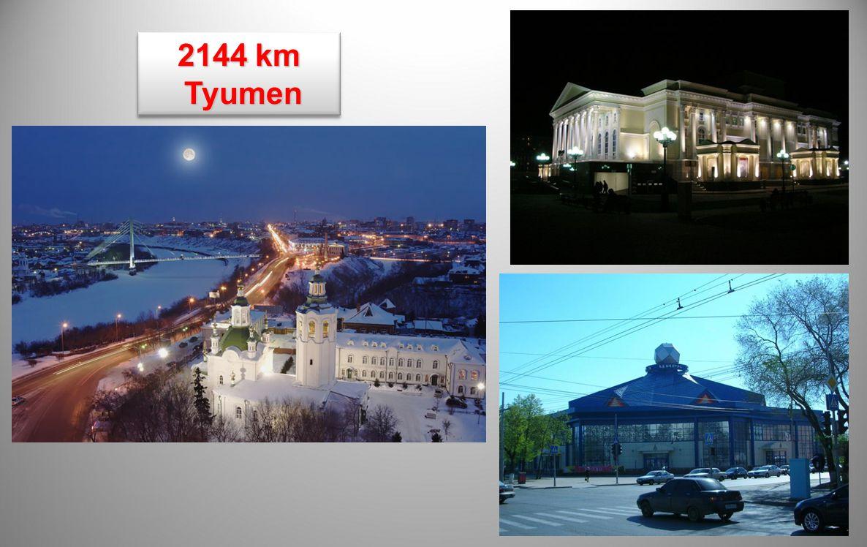 2144 km Tyumen