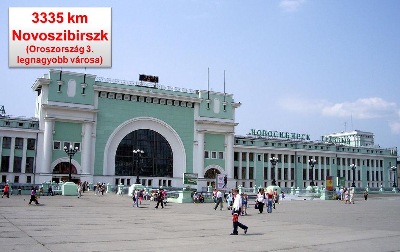Novoszibirszk (Oroszország 3. legnagyobb városa)