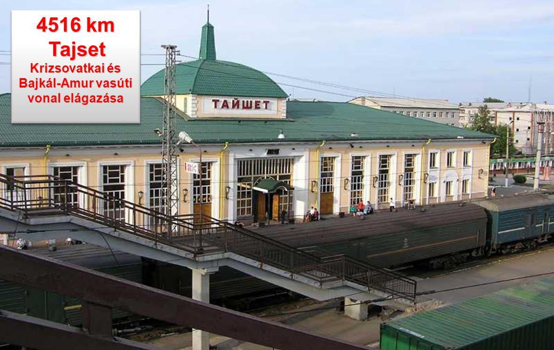 Krizsovatkai és Bajkál-Amur vasúti vonal elágazása
