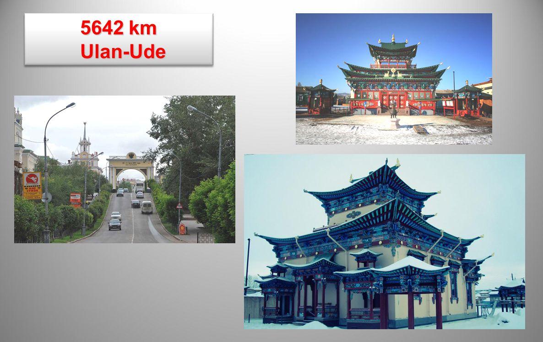5642 km Ulan-Ude