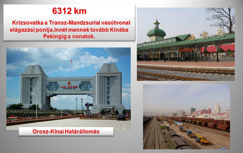 Orosz-Kínai Határállomás