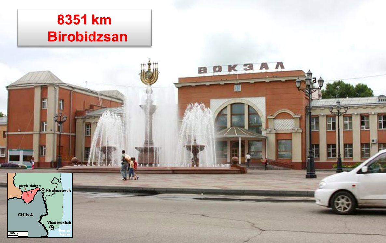 8351 km Birobidzsan