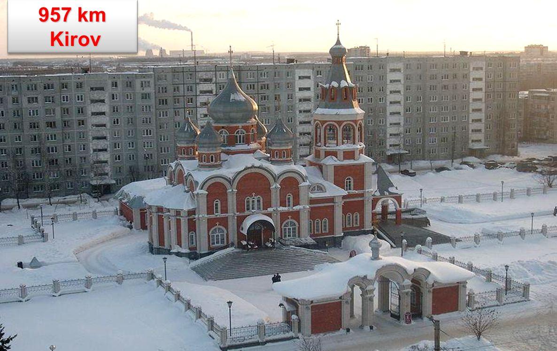 957 km Kirov