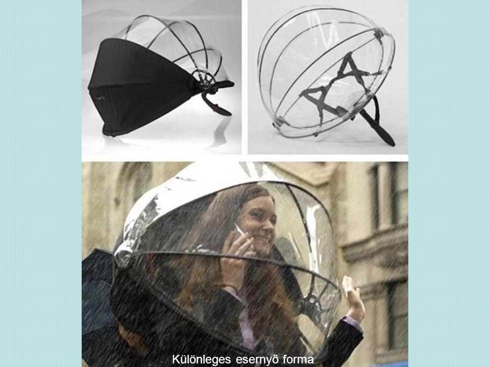 Különleges esernyő forma