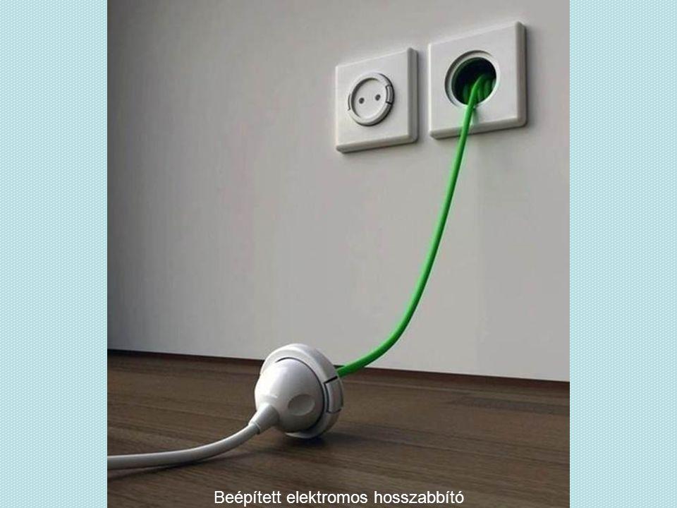 Beépített elektromos hosszabbító