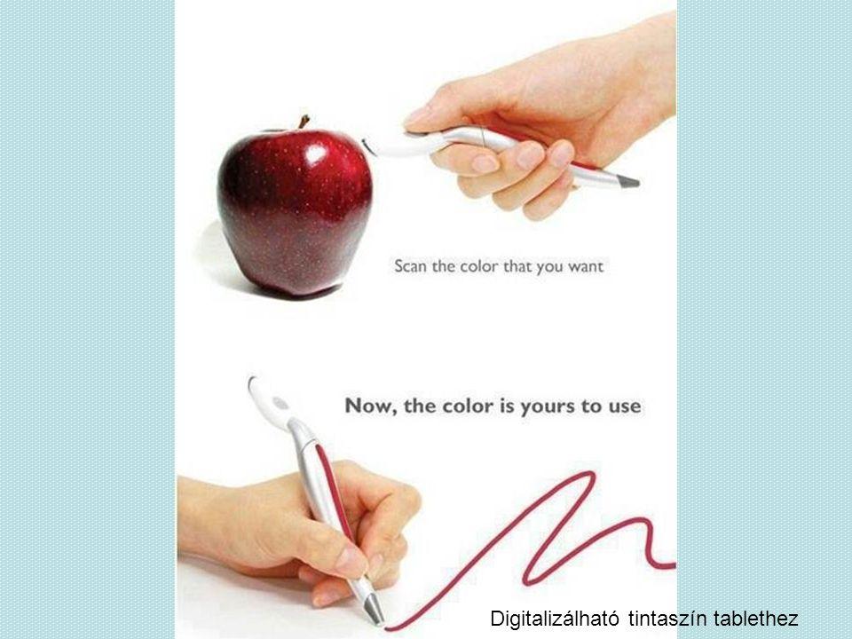 Digitalizálható tintaszín tablethez