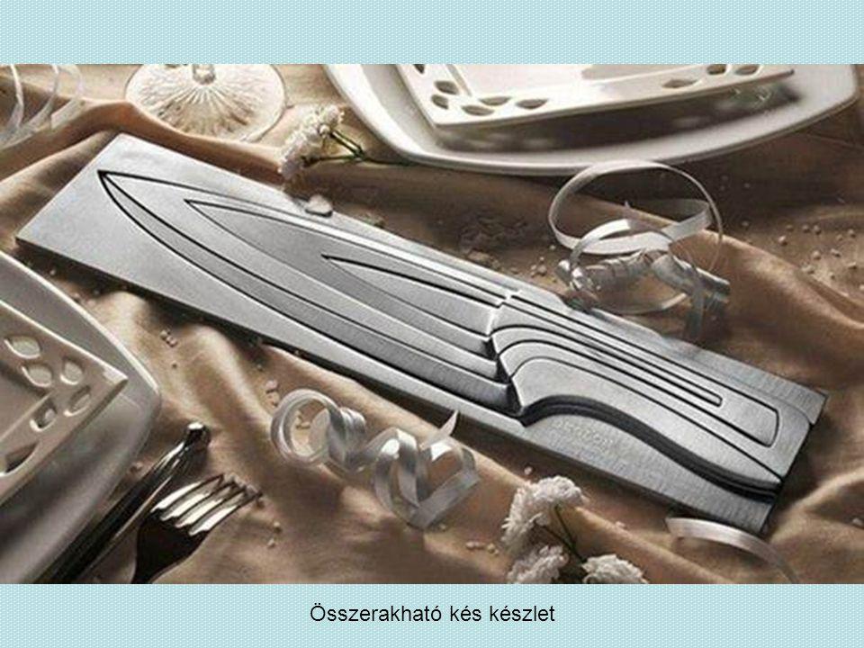Összerakható kés készlet