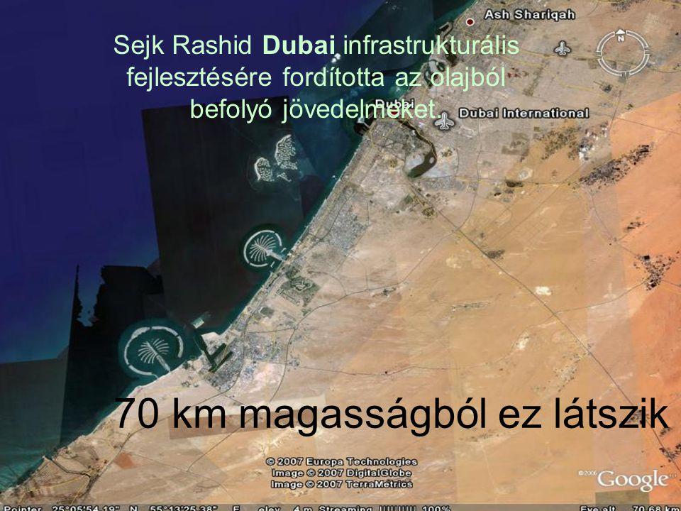 70 km magasságból ez látszik