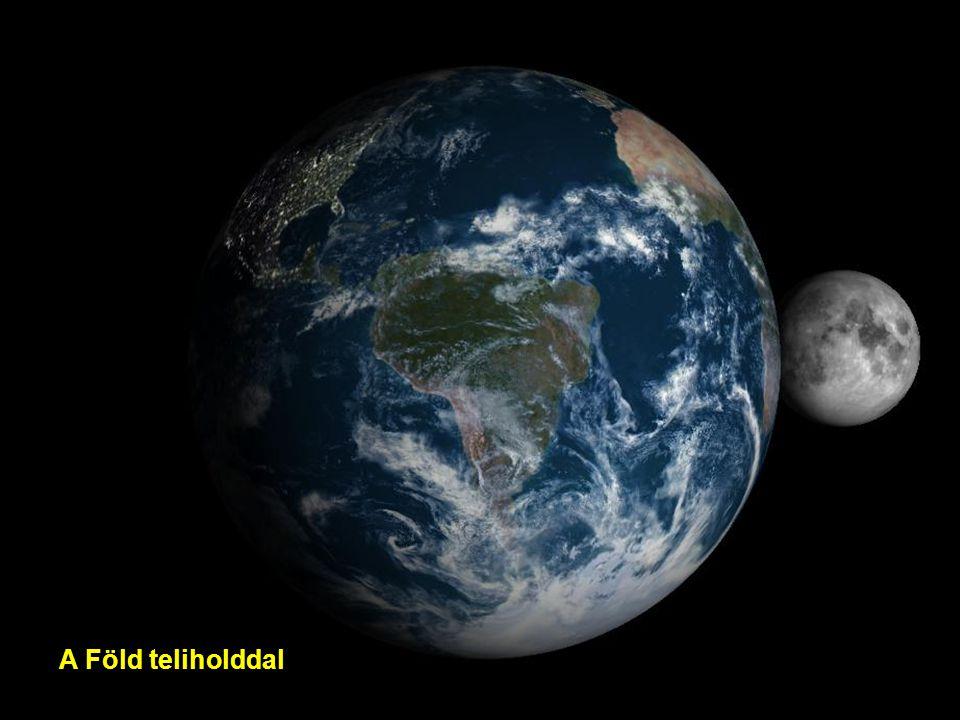 A Föld teliholddal