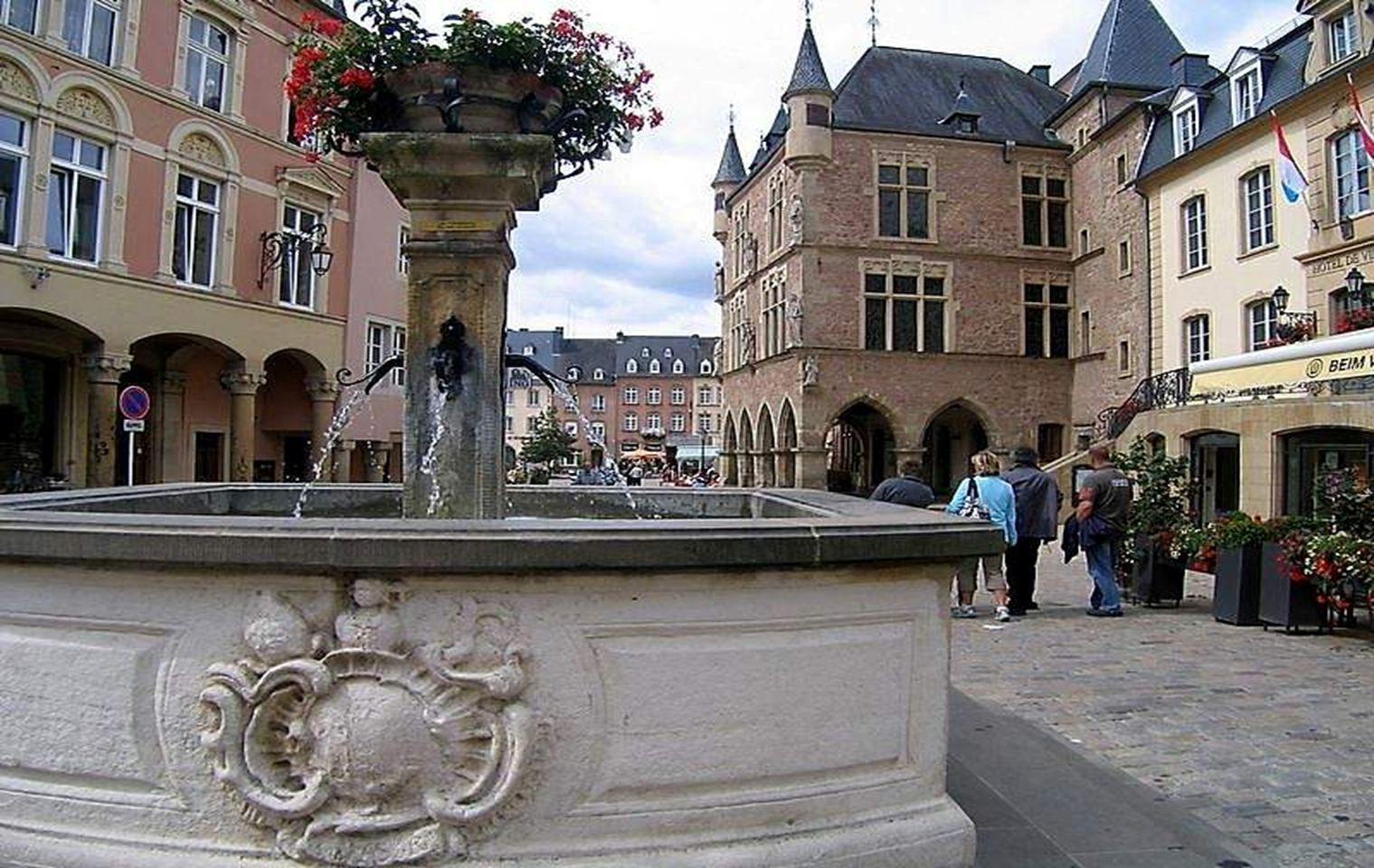 Plaza medieval Medieval square