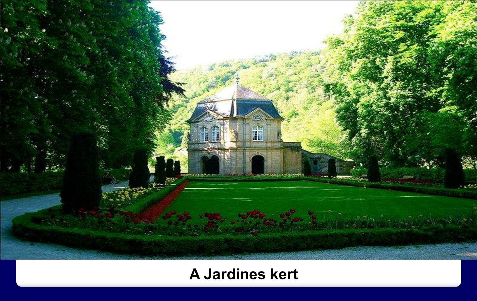 A Jardines kert