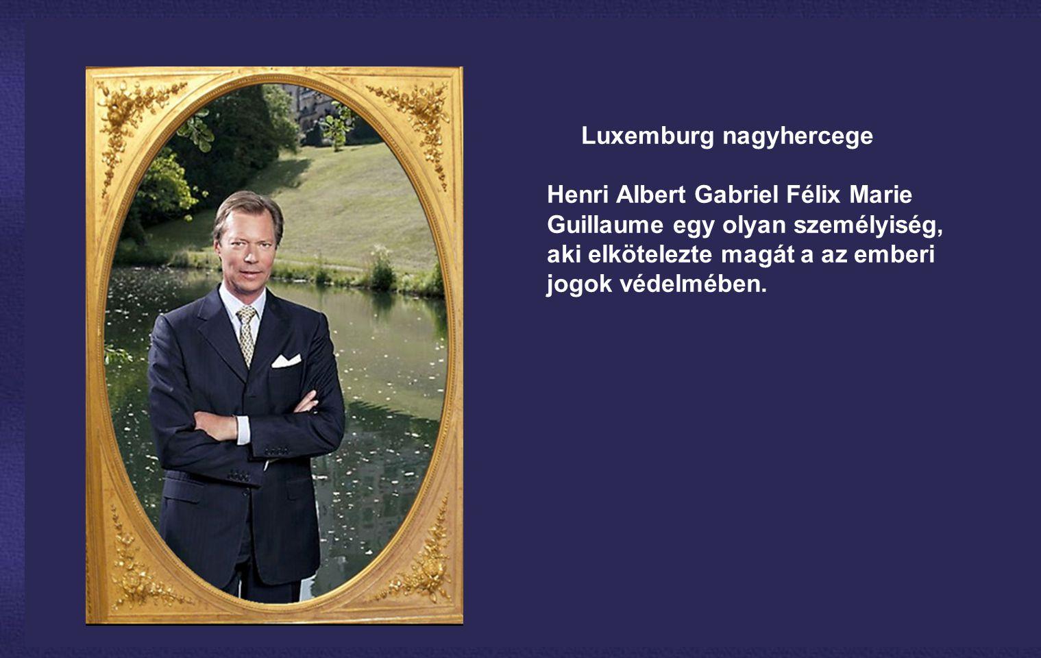 Luxemburg nagyhercege