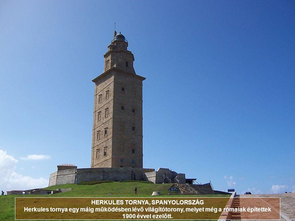 HERKULES TORNYA, SPANYOLORSZÁG