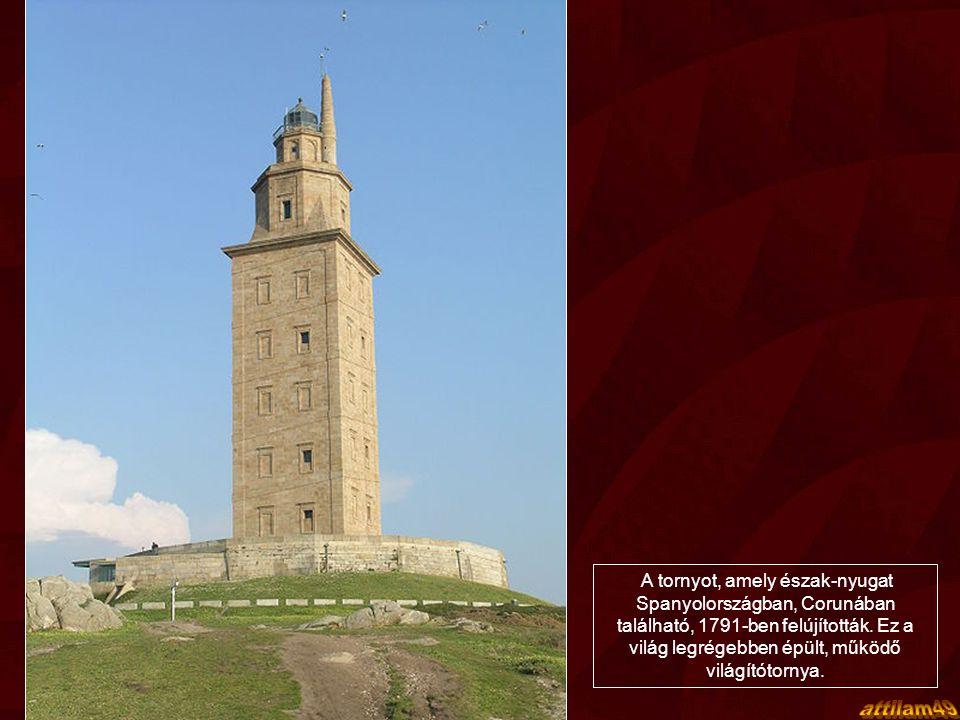 A tornyot, amely észak-nyugat Spanyolországban, Corunában található, 1791-ben felújították. Ez a világ legrégebben épült, működő világítótornya.