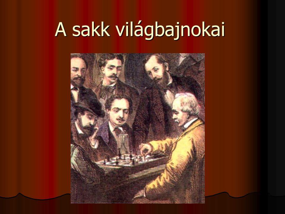 A sakk világbajnokai