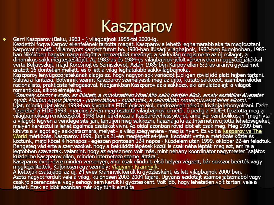 Kaszparov