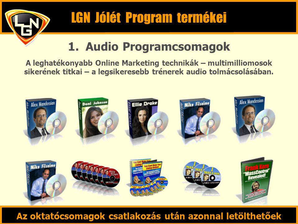 LGN Jólét Program termékei