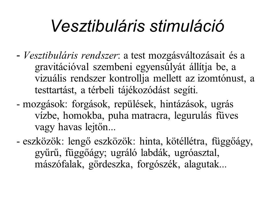 Vesztibuláris stimuláció