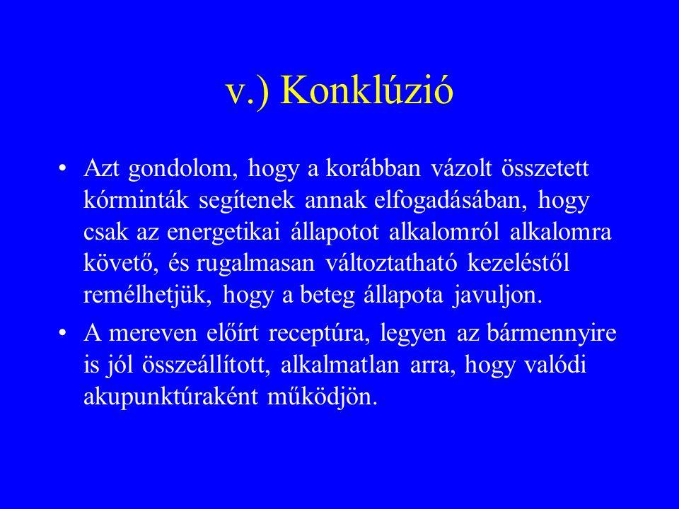 v.) Konklúzió
