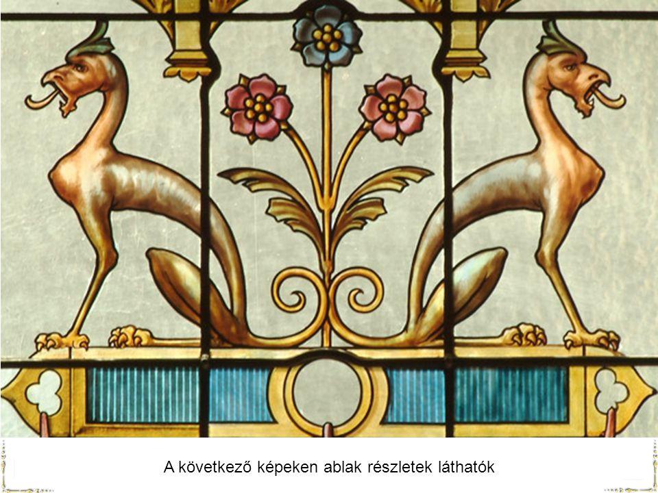 A következő képeken ablak részletek láthatók