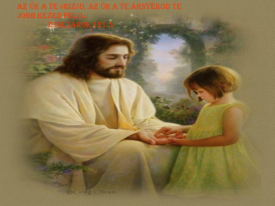 Az úr a te őriződ, az Úr a te árnyékod te jobb kezed felől.