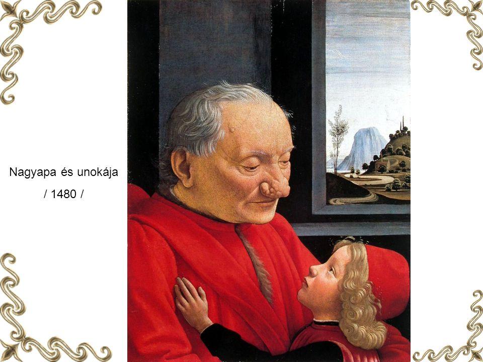 Nagyapa és unokája / 1480 /