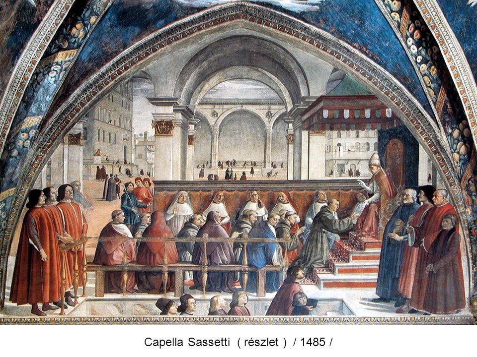 Capella Sassetti ( részlet ) / 1485 /