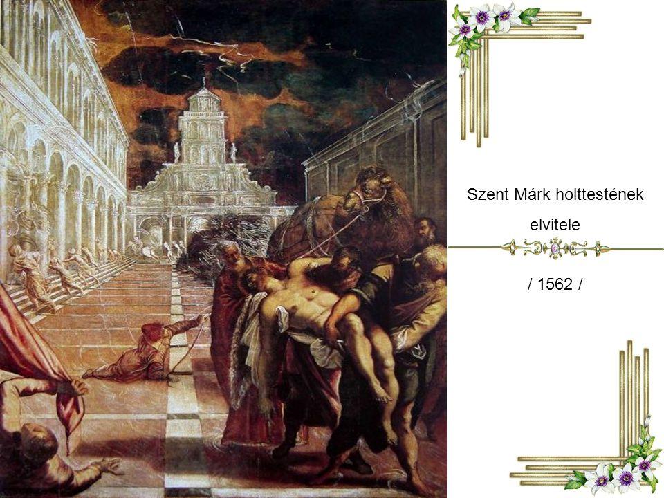 Szent Márk holttestének