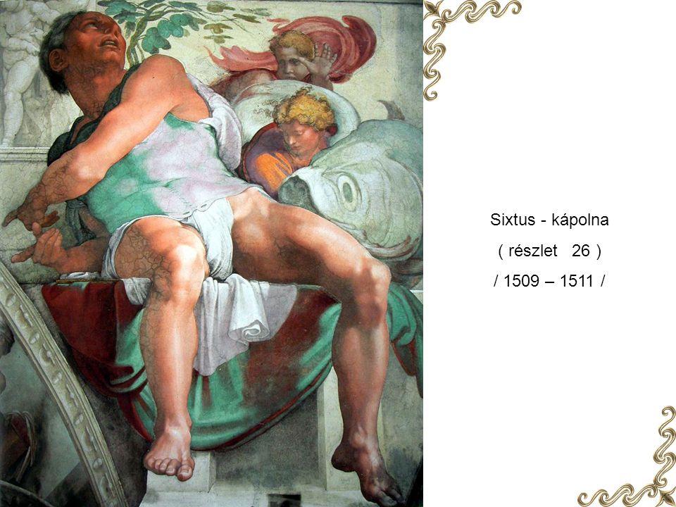 Sixtus - kápolna ( részlet 26 ) / 1509 – 1511 /