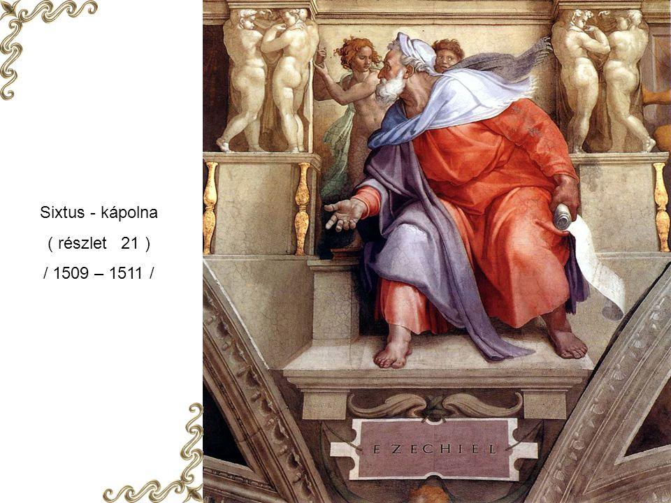 Sixtus - kápolna ( részlet 21 ) / 1509 – 1511 /