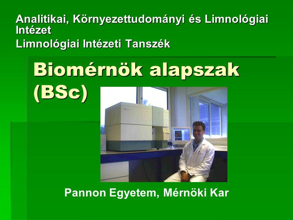 Biomérnök alapszak (BSc)