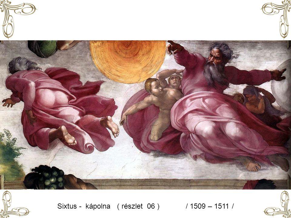 Sixtus - kápolna ( részlet 06 ) / 1509 – 1511 /