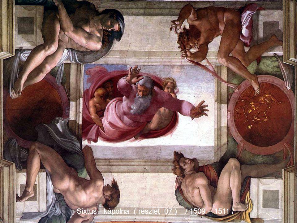 Sixtus - kápolna ( részlet 07 ) / 1509 – 1511 /